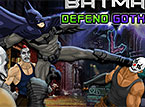 Batman Defends Gotham City