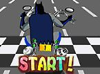 Batman Motorcycle Race - Lane Shifting Endless Runner Game