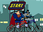 Batman Vs Superman - One On One BMX Race