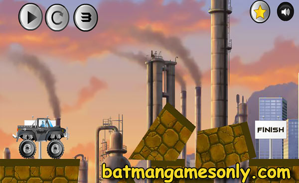 image of Batman Road Work: game scene level 3